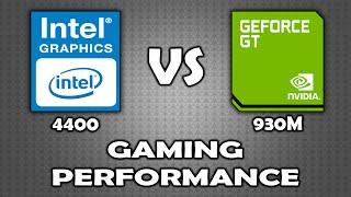 Intel HD 4400 vs Geforce GT 930M (Gaming Performance) (GTA5)