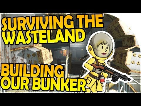 SURVIVING the WASTELAND and BUILDING our BUNKER! - Fallout Shelter Gameplay ( Android / iOS Game )