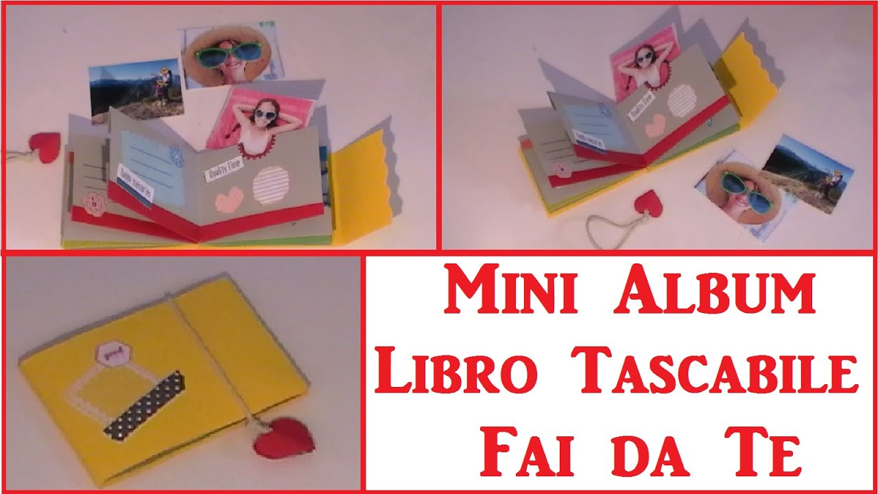 Diy mini album libretto tascabile fai da te diy pocket - 730 fai da te ...