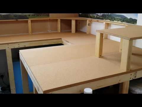 Model railway baseboard build 2