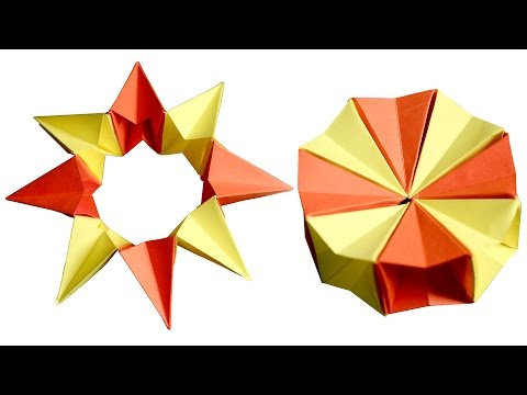Origami Paper Cube | How to make a Paper Cube | Origami Paper Cube | Kids Origami