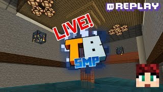 Truly Bedrock Stream Day June 8th - Twitch Replay - Double Spawner Room Prep!