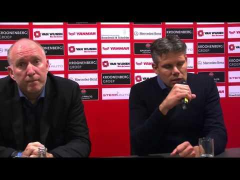 Persconferentie AlmereCityFC Achilles29 30okt2015