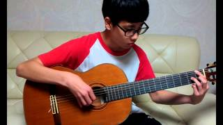 The Sting Theme -The Entertainer(classical guitar )