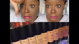 bh cosmetics hd foundation honest review i can t