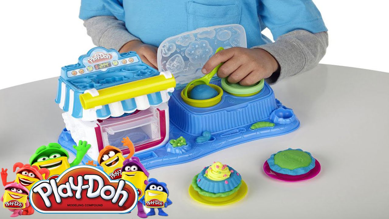 play doh sweet shoppe double desserts play doh cooking set hd youtube. Black Bedroom Furniture Sets. Home Design Ideas