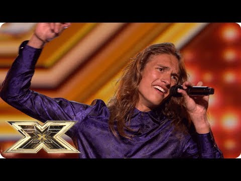 Ozzy Mathews becomes the King of The X Factor!   Auditions Week 2   The X Factor UK 2018