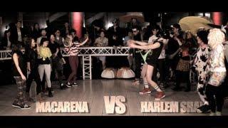 HD Macarena VS Harlem Shake (Epic Dance Battles)