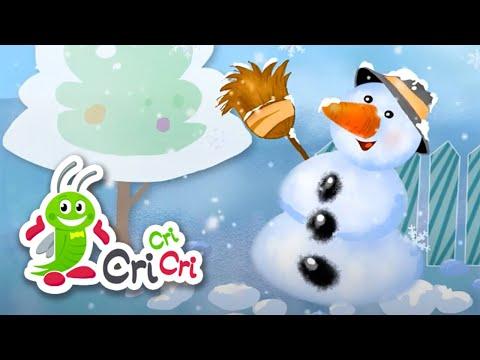 Iarna a sosit in zori | Mix – cantece de iarna pentru copii | CriCriCri #cantecepentrucopii – Cantece pentru copii in limba romana