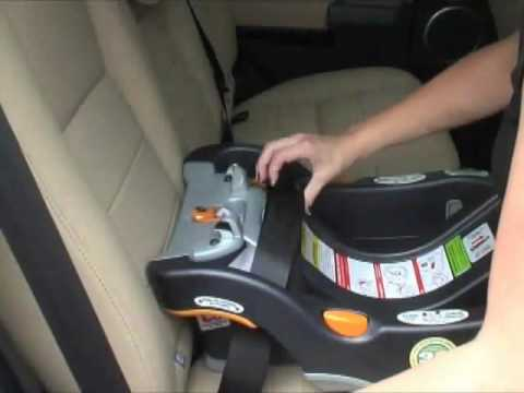 Chicco KeyFit 30 Infant Car Seat Installation Video