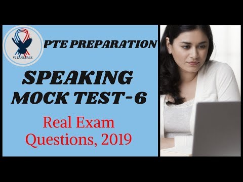 PTE Speaking Mock Test - 6 With Answers