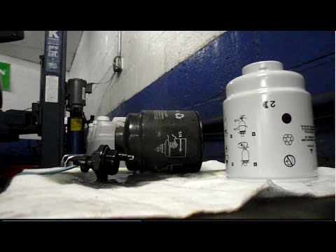how to replace the fuel filters on a 2013 dodge ram 6 7. Black Bedroom Furniture Sets. Home Design Ideas