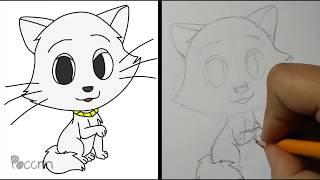 Cómo dibujar a Duquesa Chibi (Los Aristogatos)