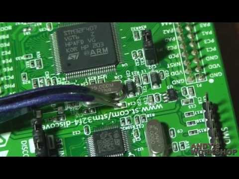STM32 F4 Discovery 25Mhz oscillator replacement