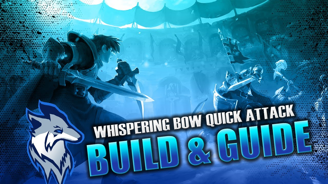 Albion Online   Whispering Bow Quick Attack Build & Guide