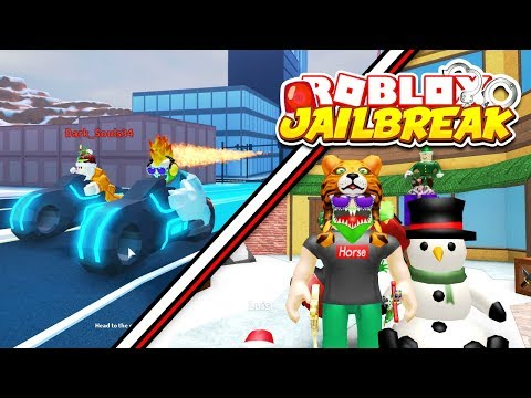 ROBLOX JAILBREAK AND MM2 LIVE! Winter Update! Volt Bike, Train Robbing, & Racing! | New Roblox Merch
