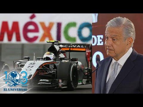 Revisaremos contratos con la F1: AMLO