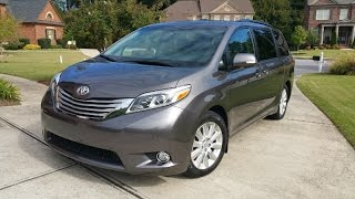 2015 Toyota Sienna Ltd. Prem. Review - Cooler Than The Average Minivan?