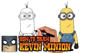 How to Draw Kevin | Despicable Me 3