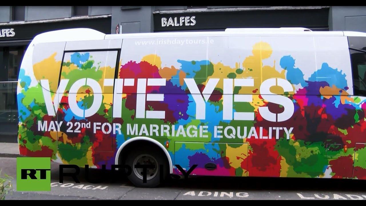 vote yes ireland same sex marriage ad in Devonport