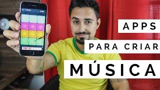 Baixar 3 aplicativos pra criar música (ou brincar kkk)