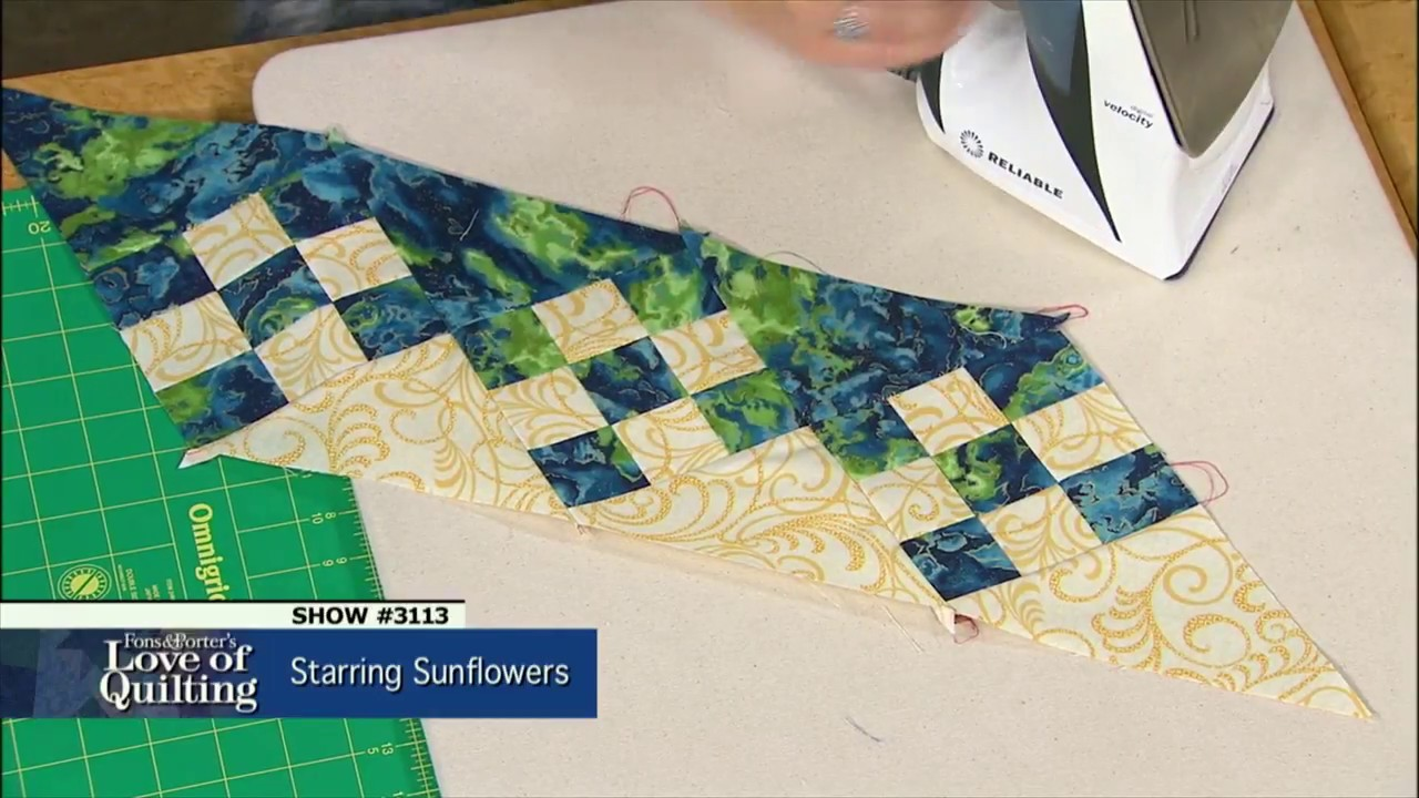 Love Of Quilting Preview Starring Sunflowers By Ann Lauer Episode