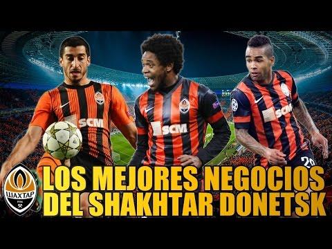 Los mejores negocios del Shakhtar Donetsk | Curiosidades del fútbol