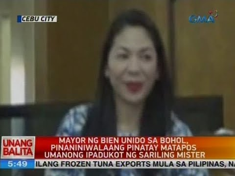Mayor ng Bien Unido sa Bohol, pinaniniwalaang pinatay matapos umanong ipadukot ng sariling mister