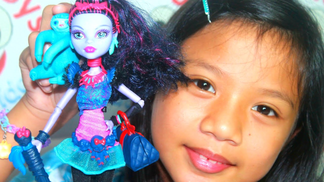 Monster High Doll Jane Boolittle - Monster High Collection