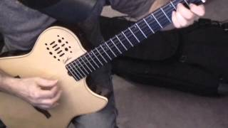 Oginski - Polonais. Guitar.  Полонез Огинского на гитаре.