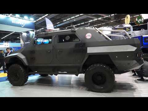 Streit Group 4x4 Security Vehicles Milipol Paris 2017 International State Homeland Security Exhibiti