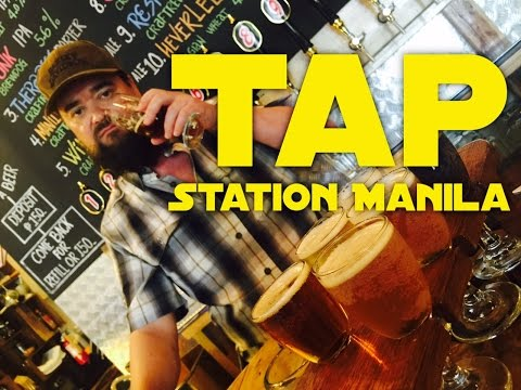 Tap Station Manila Now Open Largest Selection of Craft Beer Bonifacio Global City 60FPS by HP TV