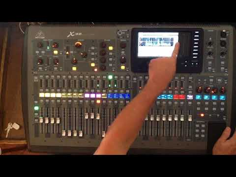 Oak Island Presbyterian Church Audio Mixer