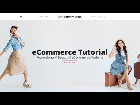 How to Create an eCommerce Website with WordPress & WooCommerce – ONLINE STORE – DIVI 2019