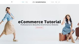 How to Create an eCommerce Website with WordPress & WooCommerce - ONLINE STORE - DIVI 2019