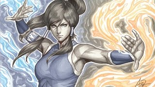 Korra (Avatar) Copic Markers Painting