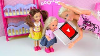 Мама Удалила Канал, Эви Нельзя Снимать Видео! Мультики Барби Куклы для девочек IkuklaTV