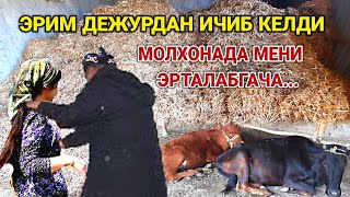 ЭРИМ ДЕЖУРДА ИЧИБ КЕЛДИ МОЛХОНАДА МЕНИ ЭРТАЛАБГАЧА...