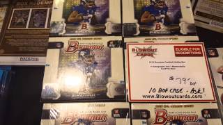 Blowout Sports Cards Display - 2015 NSCC Chicago
