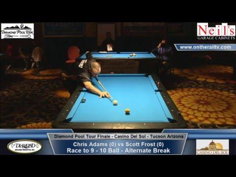 Diamond Pool Tour Finale - Scott Frost vs Chris Adams
