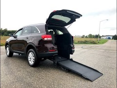 0b17ca91ca 2016 Kia Sorento Wheelchair Accessible Manual Rear Entry Freedom ...