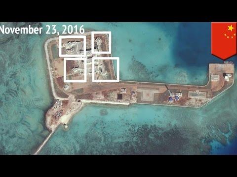 จีนวางระบบทหาร บนเกาะทั้งเจ็ดในทะเลจีนใต้