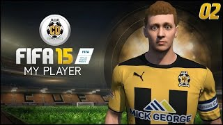 Fifa 15 | my player career mode ep2 - omfg amazing first goal!!