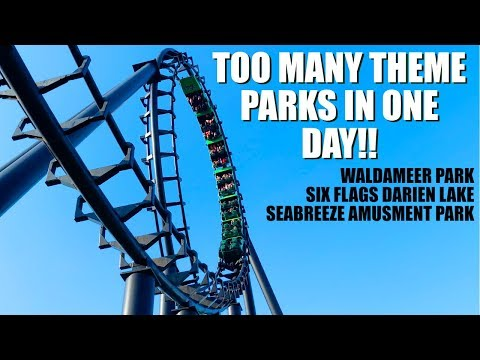 Do You Really Need To Spend All Day At A Theme Park? - Waldameer, Six Flags Darien Lake, & Seabreeze