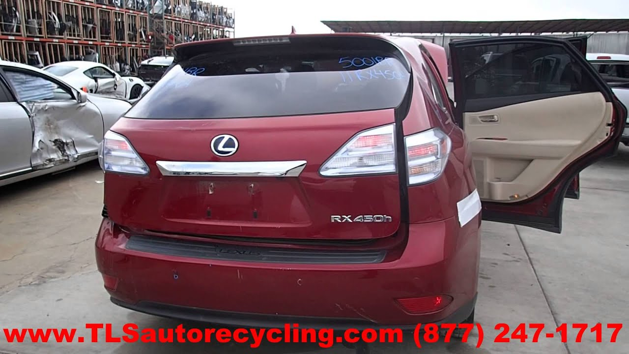 2011 Lexus RX450H Parts For Sale Save up to 60%