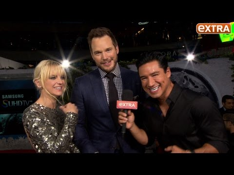 Chris Pratt Jokes at 'Jurassic World' Premiere: 'I'm Gonna Get Hammered and Ride a Dinosaur!'