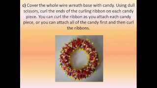 Mother's Day Crafts: Candy Wreath Thumbnail