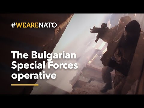 The Bulgarian Special Forces operative - #WeAreNATO