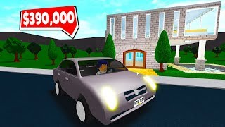 I BOUGHT THE FIRST CAR in BLOXBURG-Roblox adventure #10