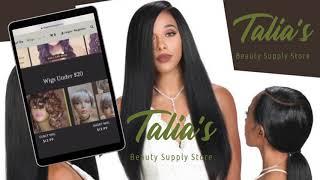 TALIA BEAUTY SUPPLY WEBSITE Promo